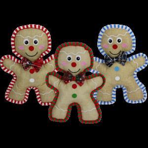 Burlap Gingerbread Man