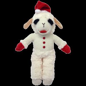 Lamb Chop® With Santa Hat Standing