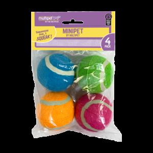Squeaky Tennis Balls