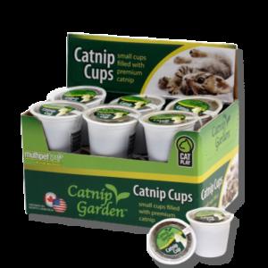 Catnip Garden® 12 Pack of Catnip Cups