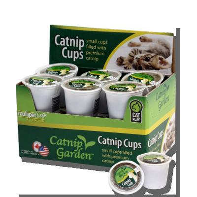 Catnip Garden 12 Pack of Catnip Cups