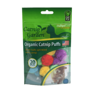 Catnip Garden® Organic Catnip Puffs
