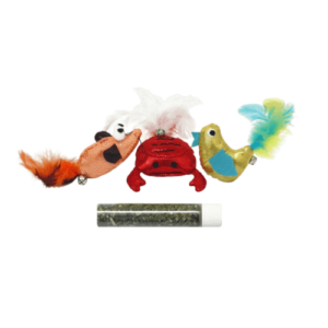 Crab, Bird & Mouse Refillable Toy