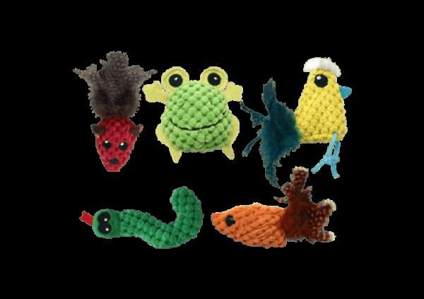 Knobby Knit Cat Toys