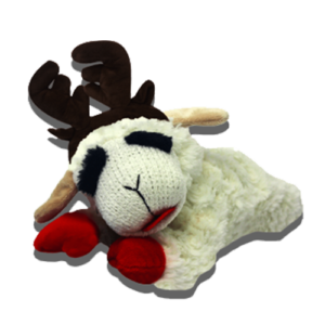 Lamb Chop® With Antlers Laying