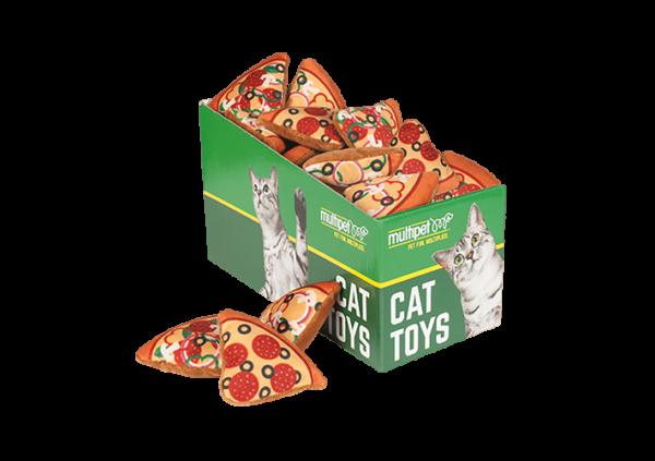 Pizza Cat Toys, 25 Piece PDQ