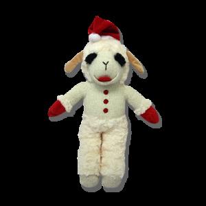 Standing Lamb Chop® With Santa Hat