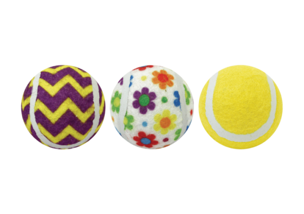Tennis Ball 3-Pack Assortment